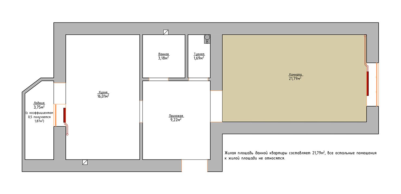 Общая и жилая площадь квартиры: в чём разница?.